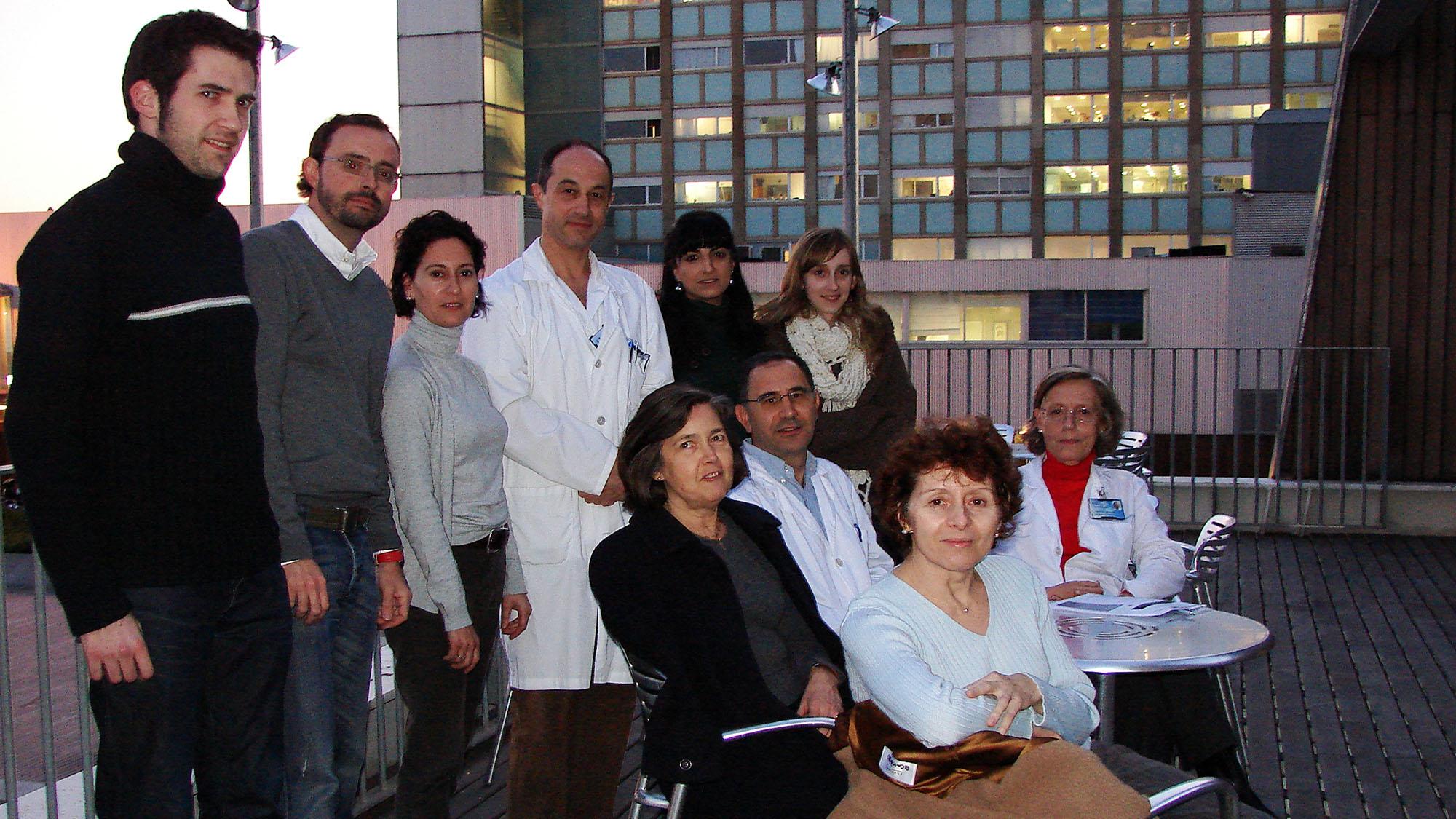 El grupo de investigación liderado por Margarita Puig