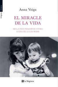 """Portada del llibre """"El miracle de la vida""""."""