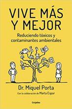 """Book cover """"Vive más, vive mejor"""""""