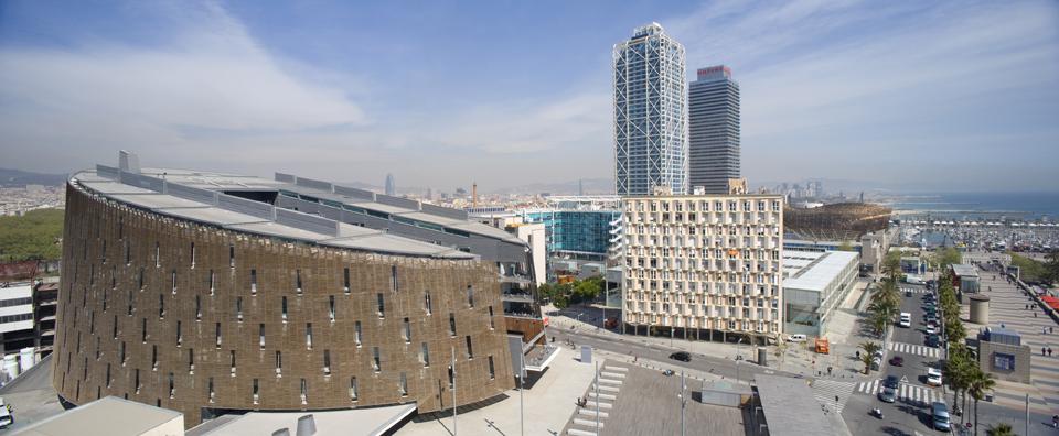 PRBB building in Barcelona, Ferran Mateo