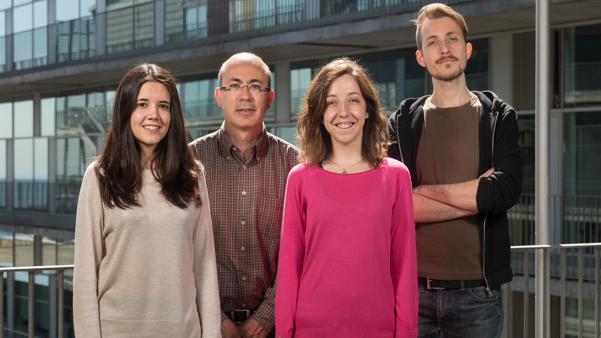 Members of the Genomics of Individuality laboratory.