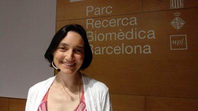 Amaya Moro Martín presenta el pacte per la ciència al PRBB.