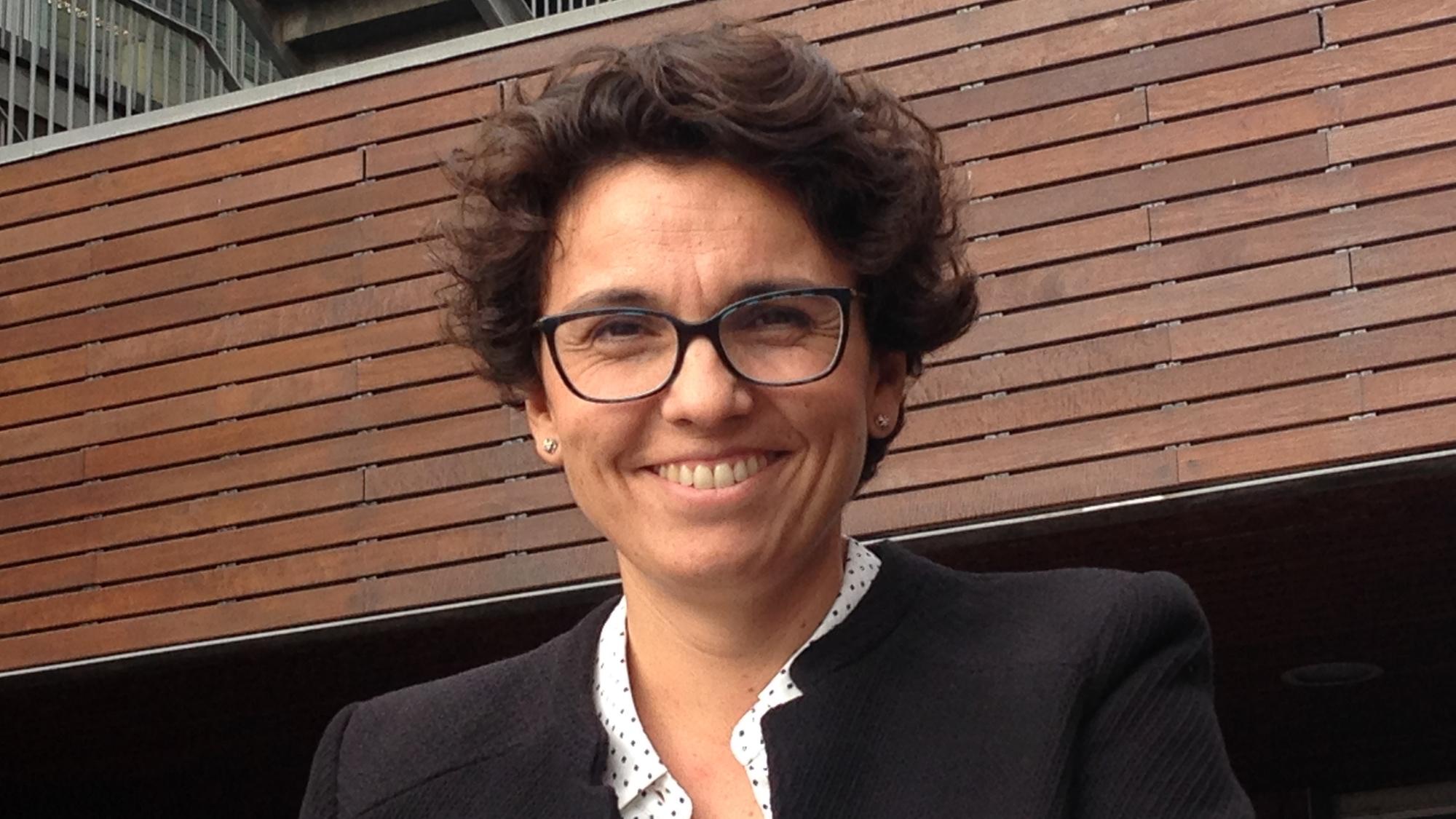Edurne Arriola, cap de secció del Servei d'Oncologia de l'Hospital del Mar i investigadora del grup de Teràpia Molecular del Càncer de l'IMIM.