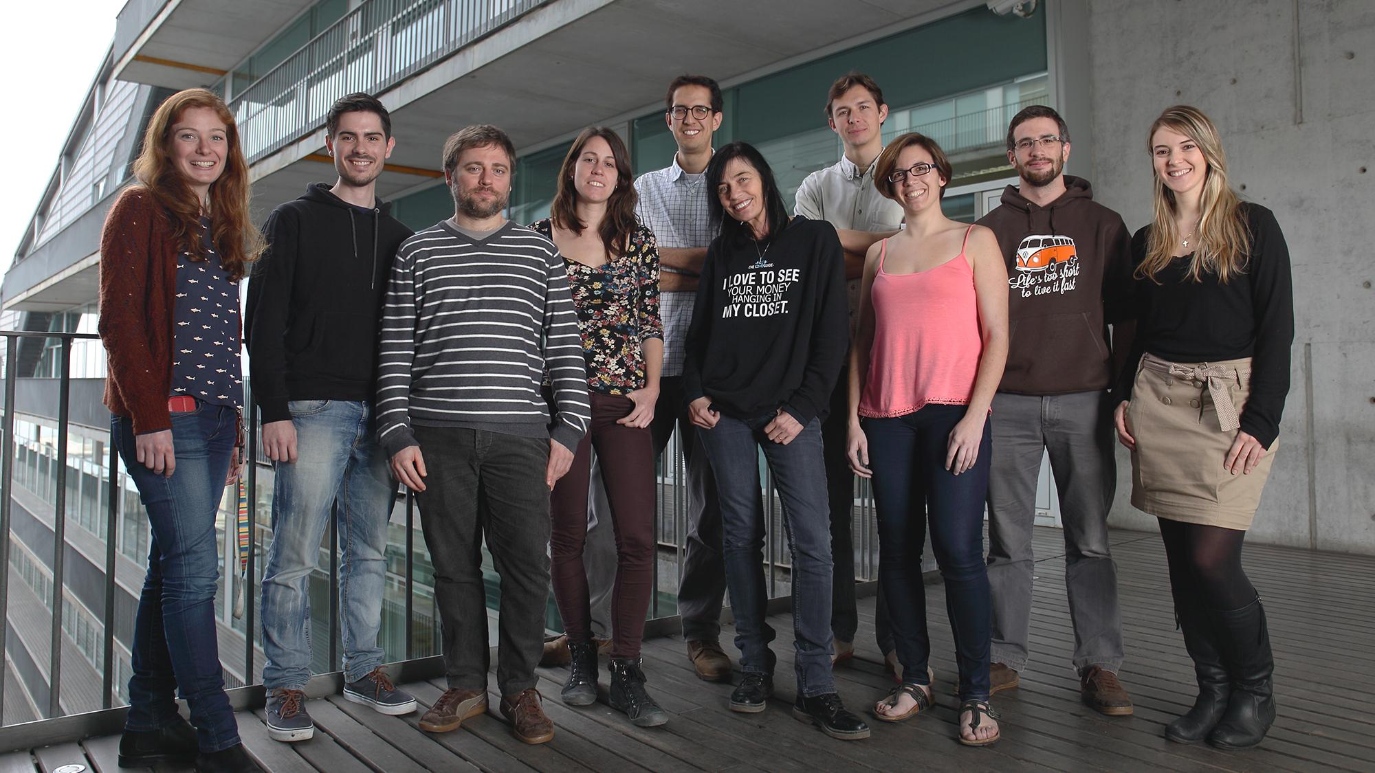 Dierssen Lab at CRG is an interdisciplinary team of nine people.