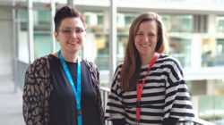 Sara Sceldi and Ana Janic, are two new research group leaders working on cancer at the PRBB.