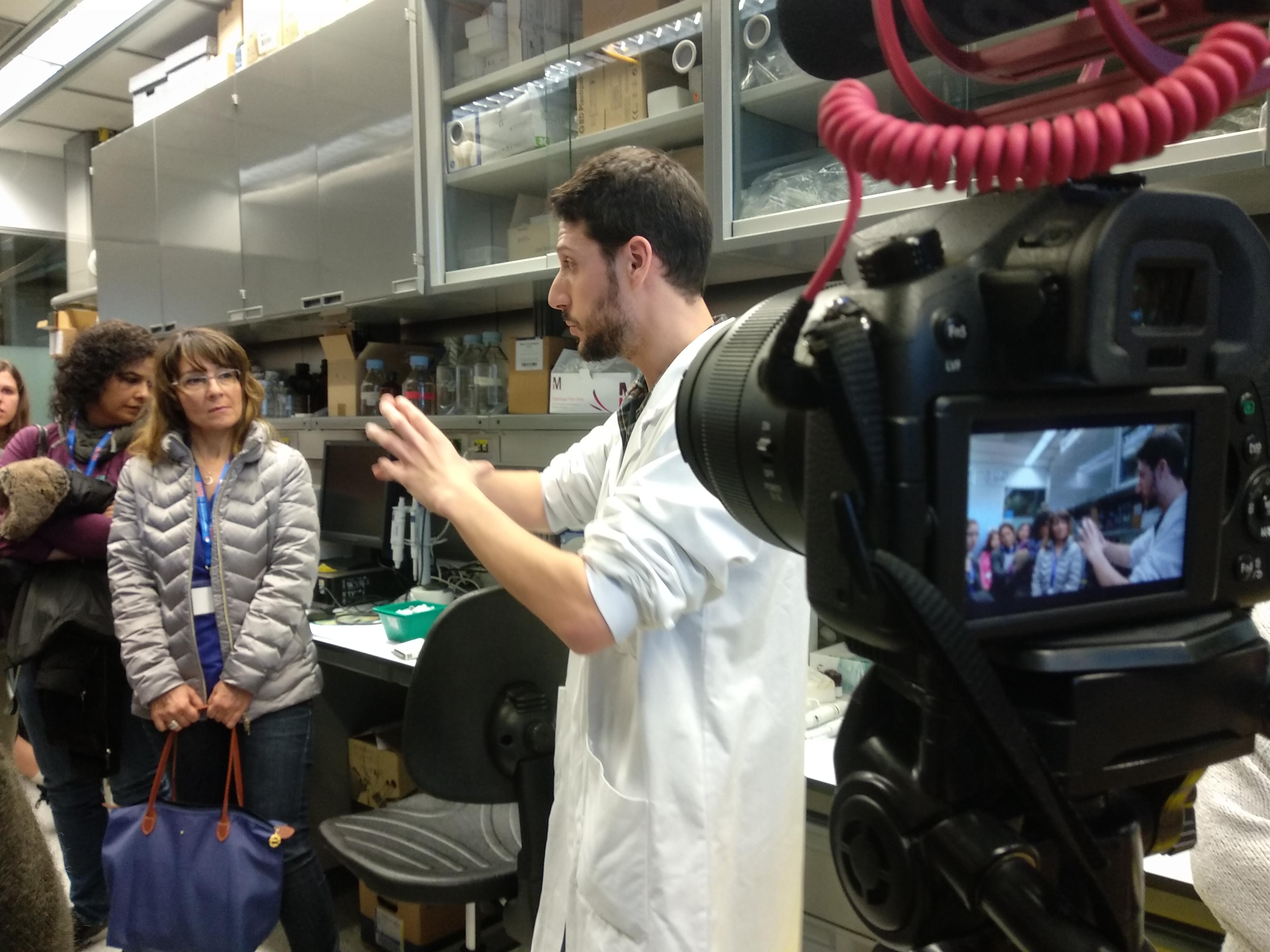 En el laboratorio hacen los ensayos funcionales para estudiar cómo actúa el HDL en distintas personas.