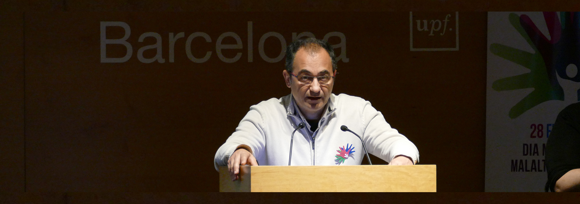 Simó Schwartz, director del CIBBIM-Nanomedicine, a l'Hospital Vall d'Hebron.