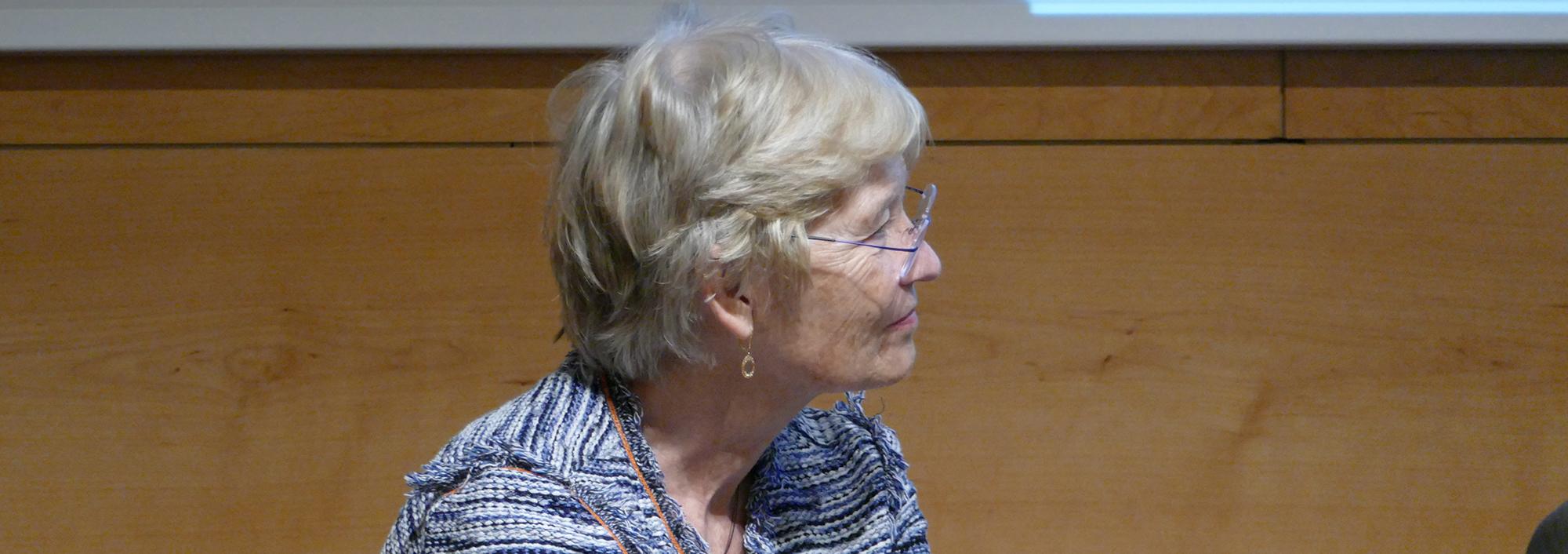 Susan Webb, presidenta de la Comissió Assessora de Malalties Minoritàries a Catalunya , catedràtica de la UAB i subdirectora científica del Centre d'Investigació Biomèdica en Xarxa de Malalties Rares (CIBERER).