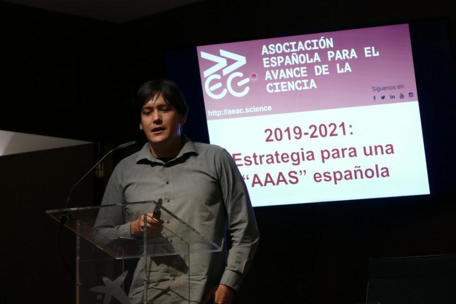 Borja Sánchez, secretario general de la AEAC, habló de la estrategia de la asociación.