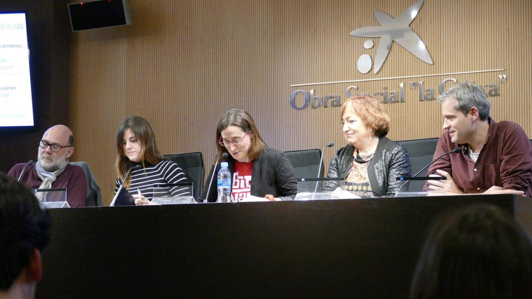 El acto de presentación de la Asociación Española para el Avance de la Ciencia (AEAC) contó con dos mesas redondas.