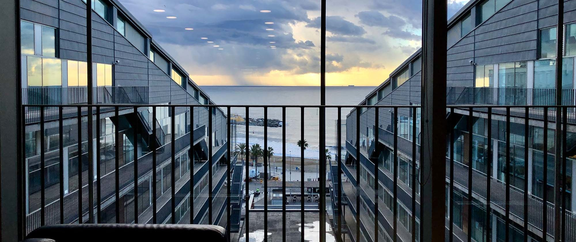 The sea views from the PRBB building are something our many vistors highly appreciate. Photo by Nestor Saiz Arenales.