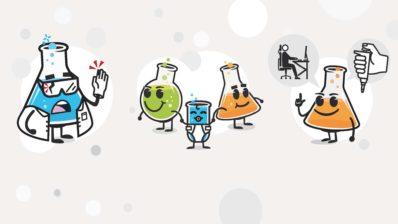 """Il·lustracions de la campanya """"La prevenció és cosa de tots. Comença per tu!"""" (dissenyador: Roger Ametller)."""