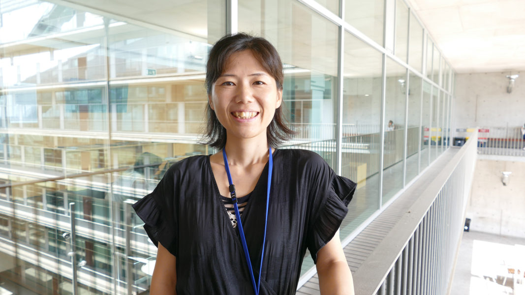 Miki Ebisuya arrived to the EMBL Barcelona, at the PRBB, in 2018 to lead her group on synthetic developmental biology.