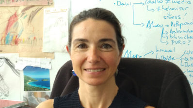 Elena Casacuberta es una jefa de grupo en el Instituto de Biología Evolutiva (IBE: CSIC-UPF).