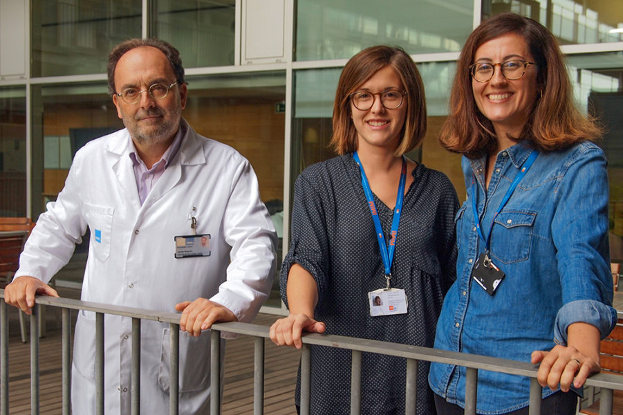 The authors of the study that shows an effect of noise on the severity of stroke.
