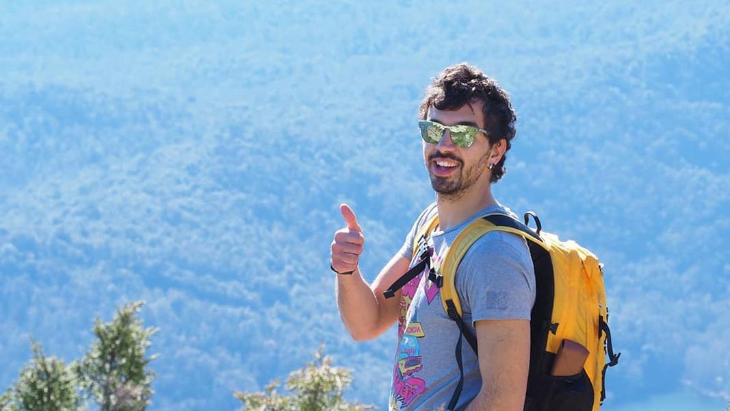 Davide Cutuli, estudiant de màster que durant el 2019, ha estat vinculat al PRBB i ha participat per primer cop en el torneig.