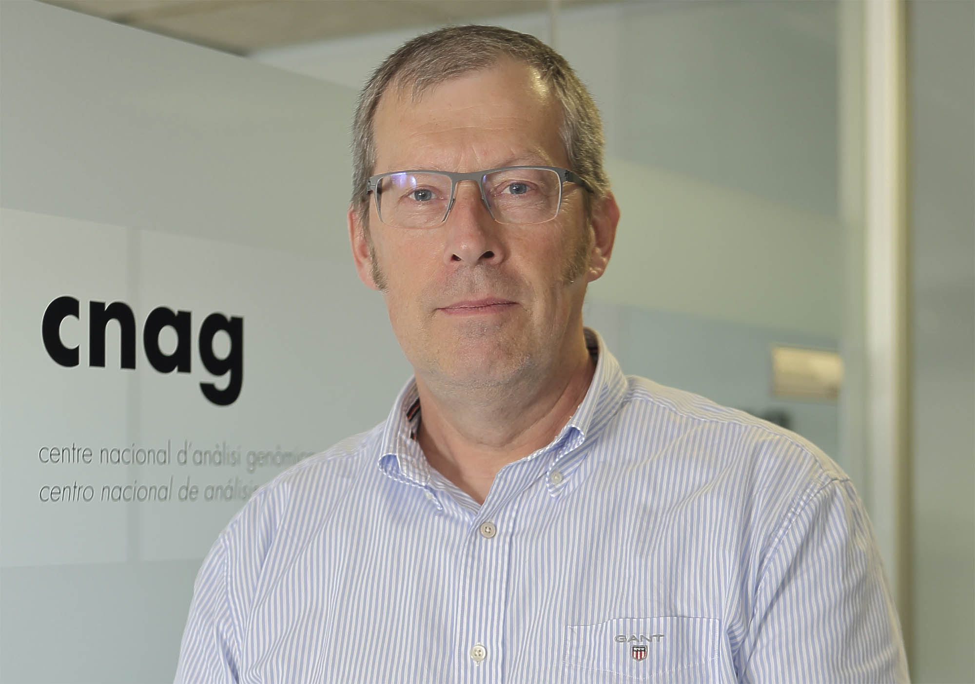 Ivo Gut, director of the CNAG-CRG