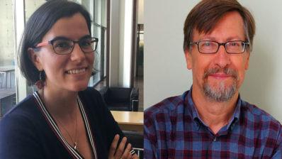 Maria Grau, investigadora del IMIM, y José Miguel Baena-Díez, investigador del IDIAPJGol (Centre d'Atenció Primària La Marina), son los principales autores del artículo.