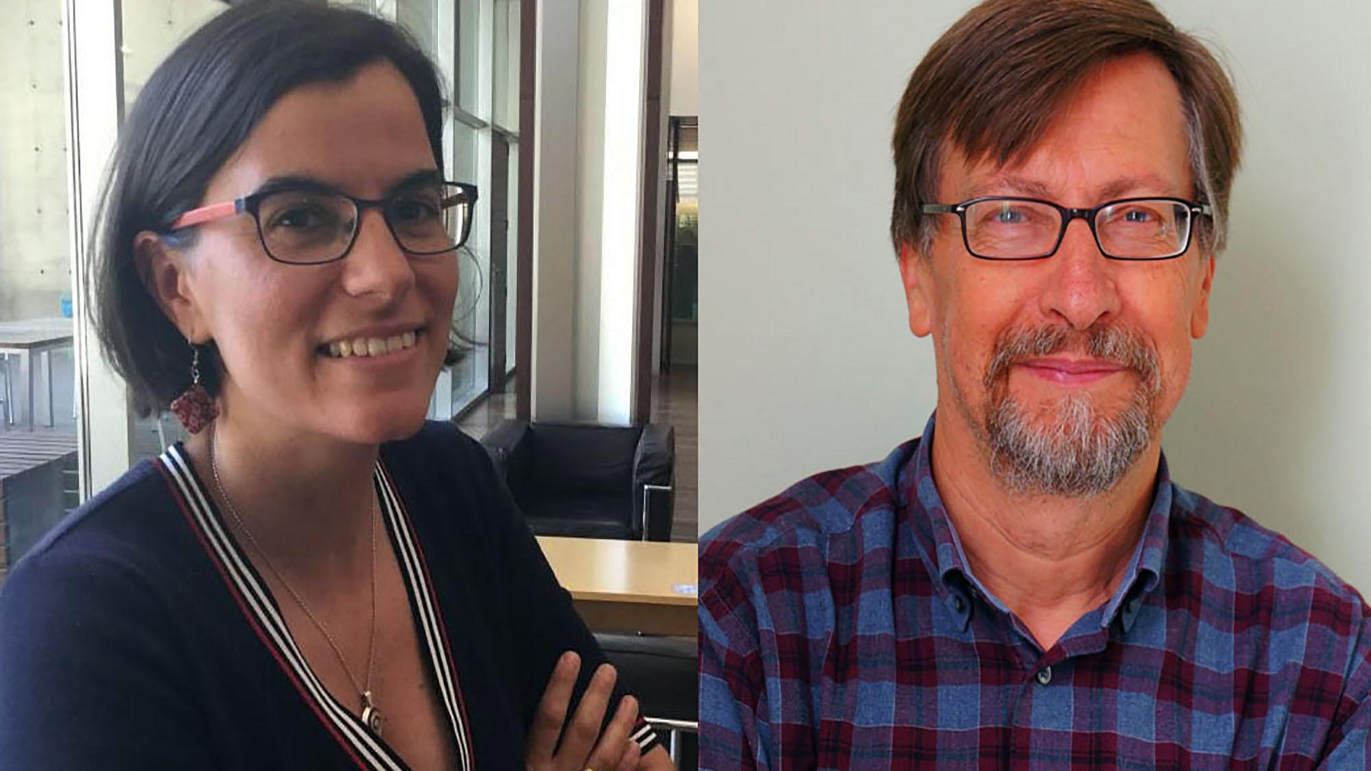 Maria Grau, investigadora de l'IMIM, i José Miguel Baena-Díez. investigador de l'IDIAPJGol (Centre d'Atenció Primària La Marina), són els principals autors del treball.