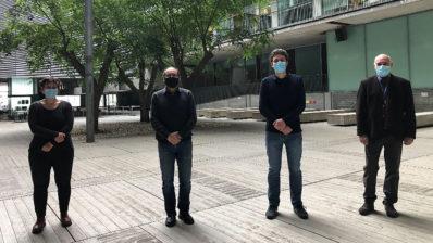 Los investigadores del IMIM Gemma Vilagut, Jordi Alonso, Philippe Mortier y Víctor Pérez llevaron a cabo este estudio.