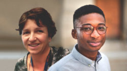 Anna Bigas (cap de grup a l'IMIM) i Akinola Akinbote (estudiant de doctorat a l'EMBL Barcelona) han estat reconeguts per la seva feina.