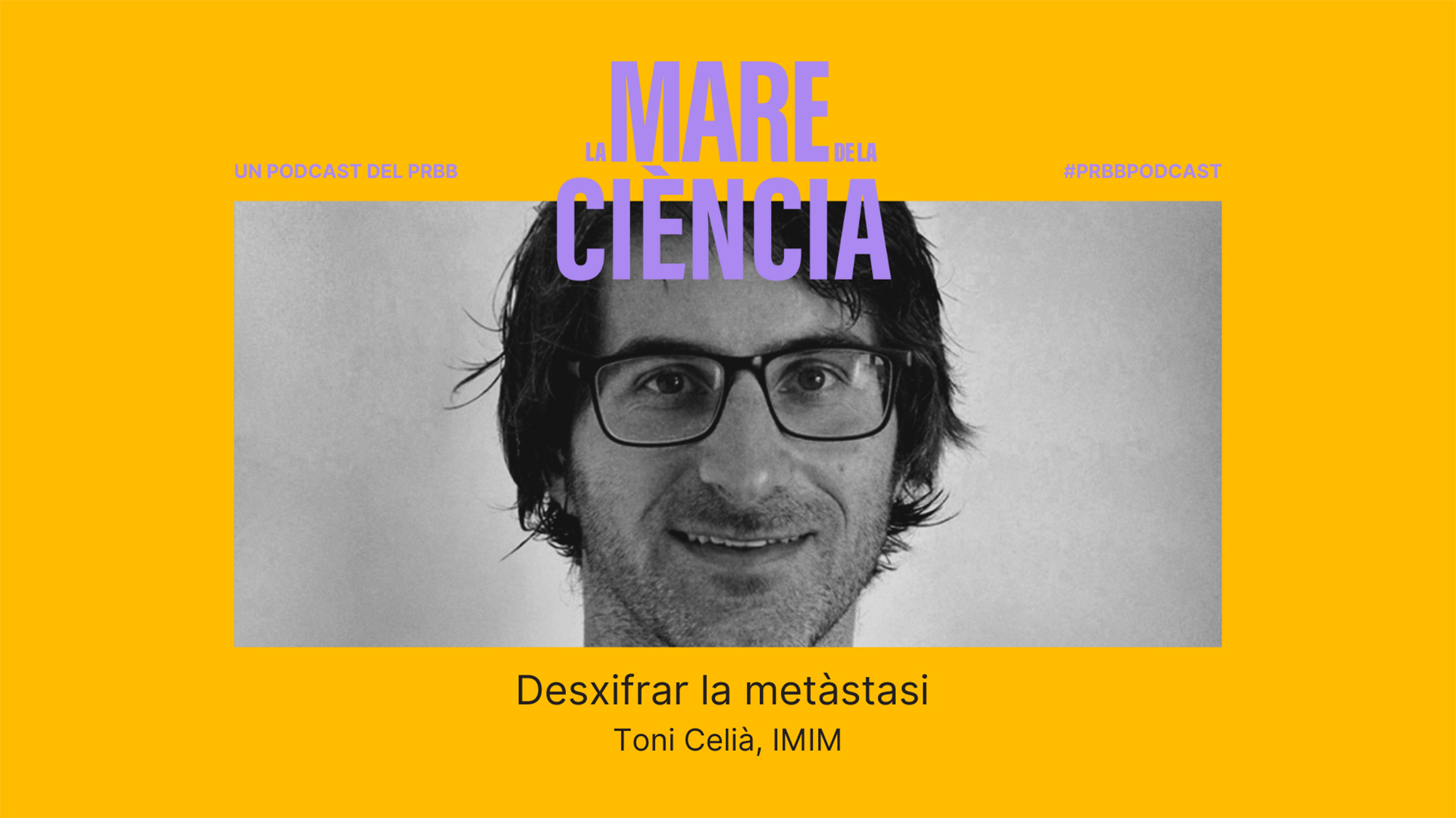 """Toni Celià Terrassa (IMIM): """"In science you need a lot of luck, and you need to persevere and look for it"""""""