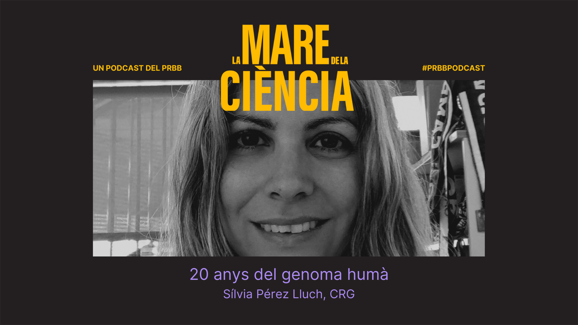"""Sílvia Pérez Lluch (CRG): """"We understand many basic parts of how the genome works, but we still have a lot to learn!"""""""